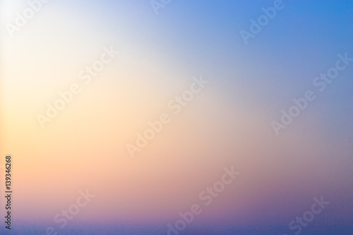 Obraz Beautiful Sunset gradient - fototapety do salonu