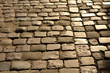 pavement stone, old pavement road, texture of stone pavement, cobblestones, background
