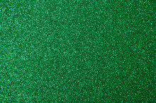 Green Glitter Texture For Background