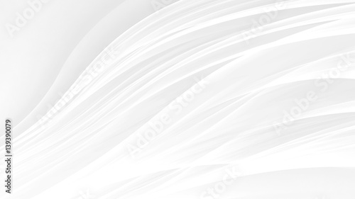 Cadres-photo bureau Abstract wave white background