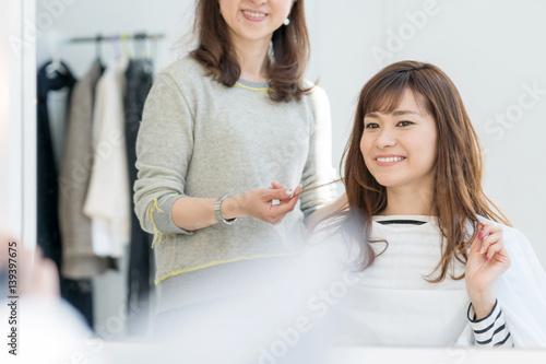 美容室・女性