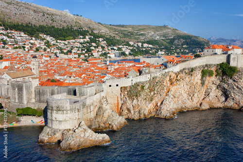 Photo  Old Town of Dubrovnik in Croatia