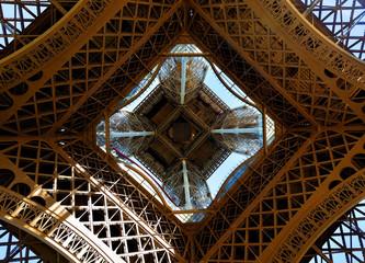 FototapetaEiffel Tower from below