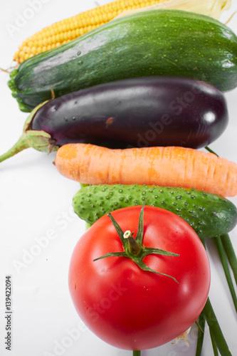 In de dag Verse groenten fresh vegetables
