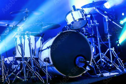 Modern drum set Fototapeta