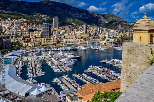 Aluminium Prints F1 Monaco vue générale.