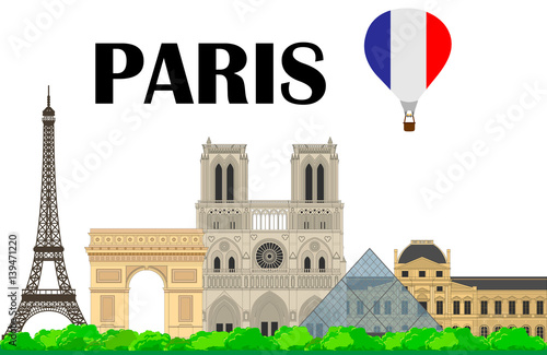 Photographie  Landmarks. Paris, France.