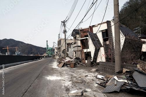 tsunami japon 2011 Canvas Print