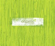 Organic Nature Friendly Eco Bamboo Background. Bio Vector Texture.