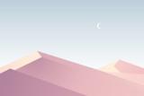 Flat design. Desert - 139487404