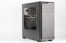 Midi Tower Computer Case With Transparent Acryl Side