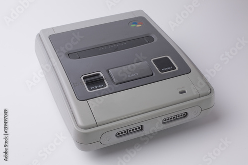 Photo  Retro Videospielkonsole