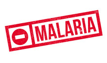 Malaria Rubber Stamp. Grunge D...