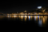 Fototapeta Londyn - Night view at Porto, Portugal