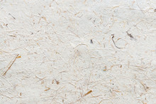 Mulberry Paper With Dried Grass Texture Background