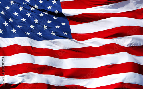 Photo Stands United States American Flag