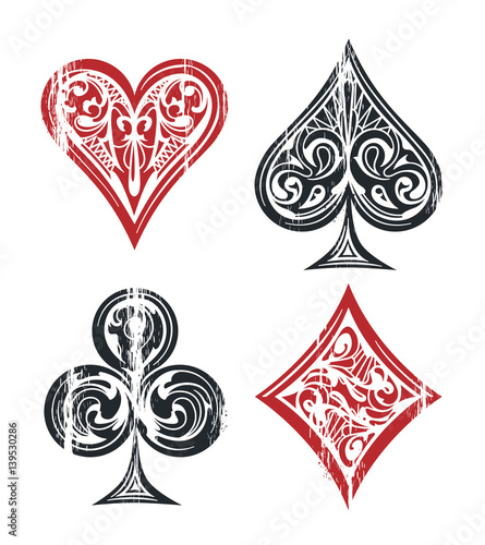 Photo  Playing Cards Symbols