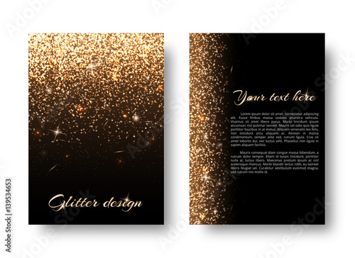 Photo  Glimmer background with abstract light