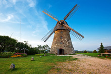 Traditional Old Dutch Windmill...