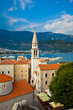 Budva old town view in Montenegro