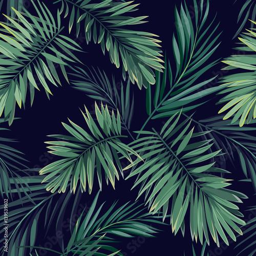 ciemny-tropikalny-tlo-z-dzungli-roslinami-bezszwowy-wektorowy-tropikalny-wzor-z-zielonymi-feniks-palmowymi-liscmi