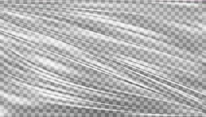 Transparent Polyethylene Plastic Warp
