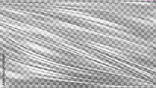 Fotografía  Transparent Polyethylene Plastic Warp
