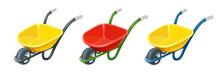 Wheelbarrow. Gardening Tools. Barrow With One Wheel