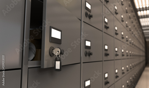 Fototapeta Key in The Bank obraz