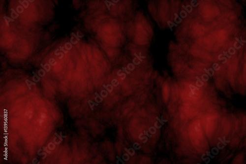 Dark red glowing cloud Canvas Print
