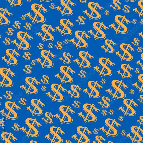 Fotografie, Obraz  money dollars illustration