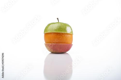 Kolorowe jabłko