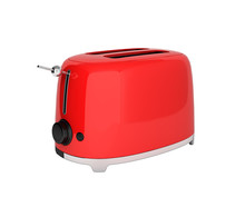 Red Retro Toaster Without Shad...