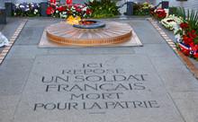 Unknown Soldier Memorial Arc Triomphe Paris
