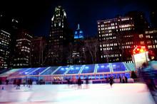Ice Skating Rink Bryant Park N...