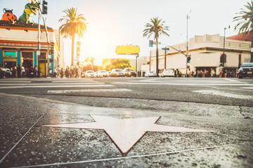 Fototapeta Walk of Fame, Hollywood