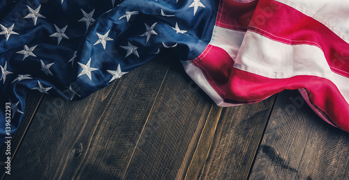 Wall Murals United States flag of the United States of America