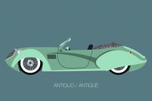 Vintage Convertible Car