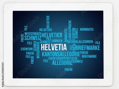 Fotografie, Obraz  Helvetia