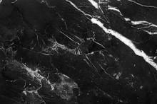 Abstract Natural Marble Black ...