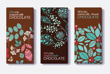 Vector Set Of Chocolate Bar Pa...