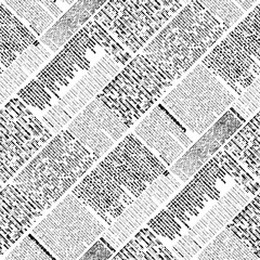 Tapeta Halftone newspaper pattern