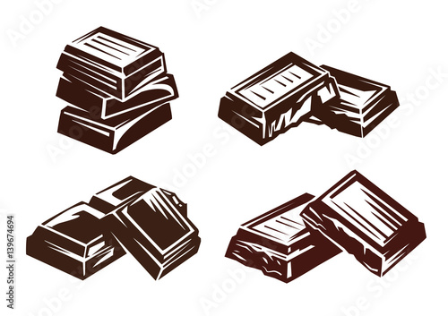 chocolate vector symbol