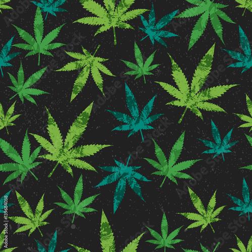 rastafarianski-wzor-zielona-marihuana