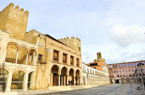 Casas Consistoriales en Plaza Alta, Badajoz, España