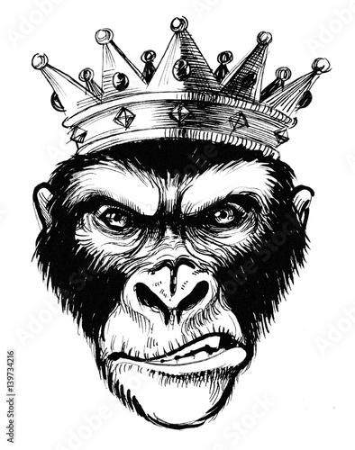 chimpanzee-king