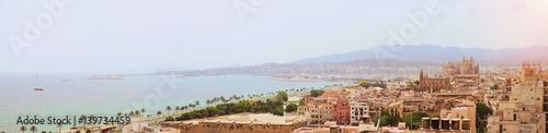 Fotografie, Obraz  palma de mallorca von oben