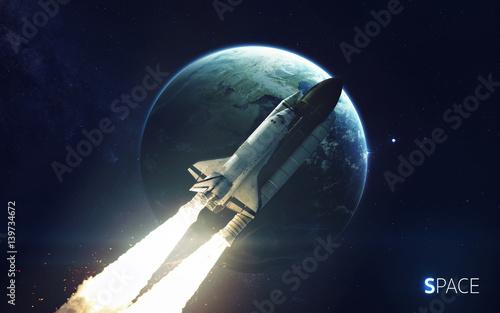 prom-kosmiczny-krazacy-wokol-planety-ziemi