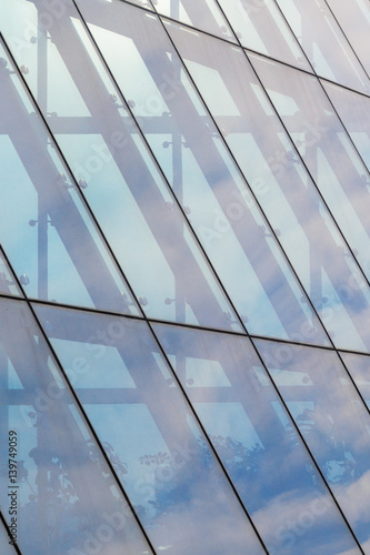 Leinwand Poster Architecture abstract background