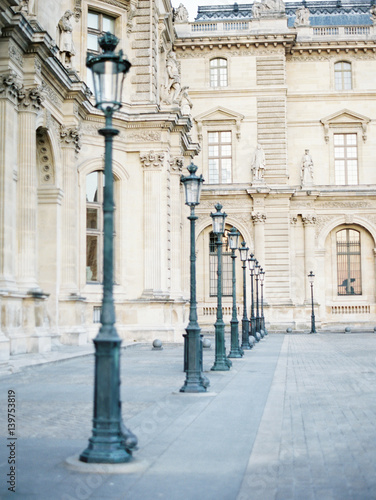 Lampposts in Paris